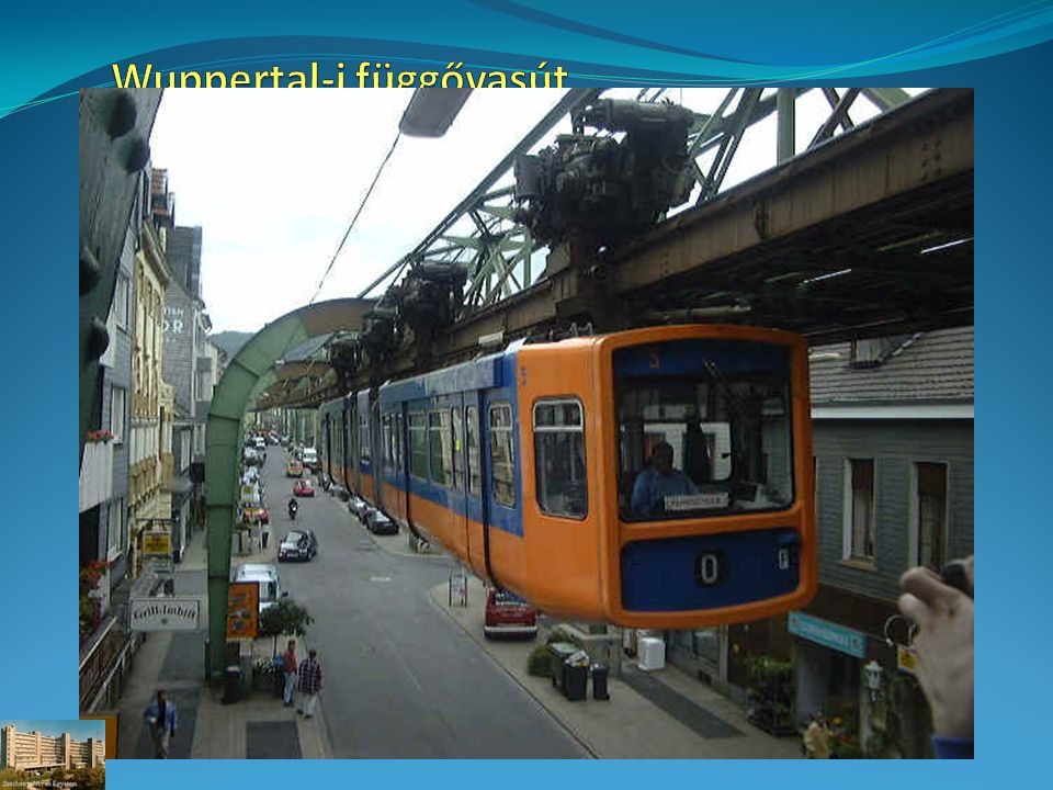 Wuppertal-i függővasút