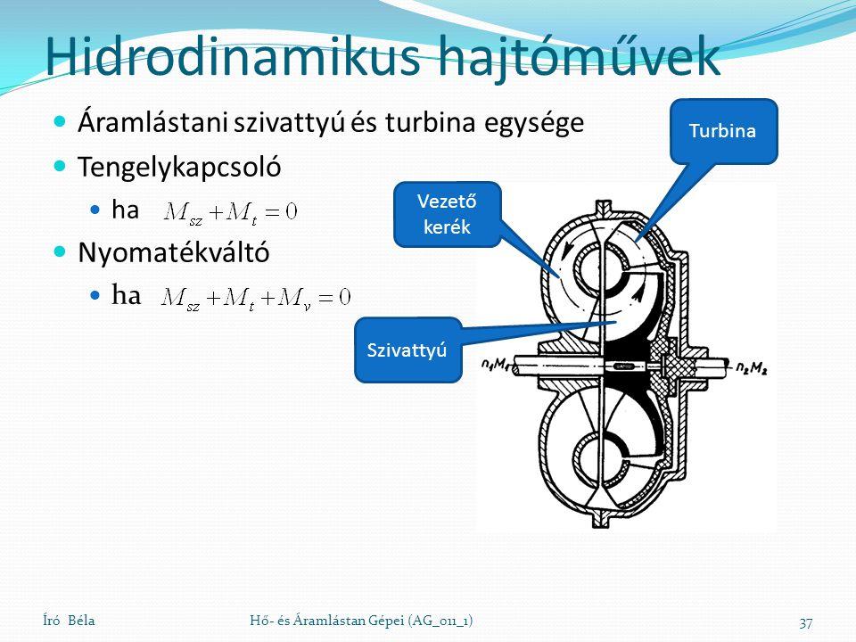 Hidrodinamikus hajtóművek