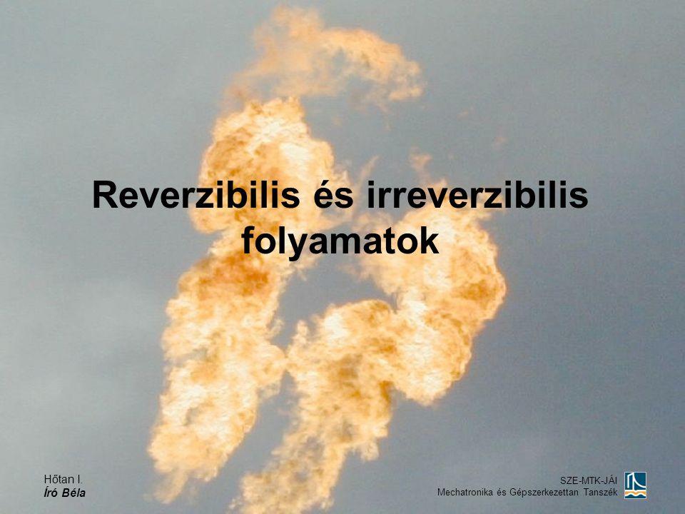 Reverzibilis és irreverzibilis folyamatok