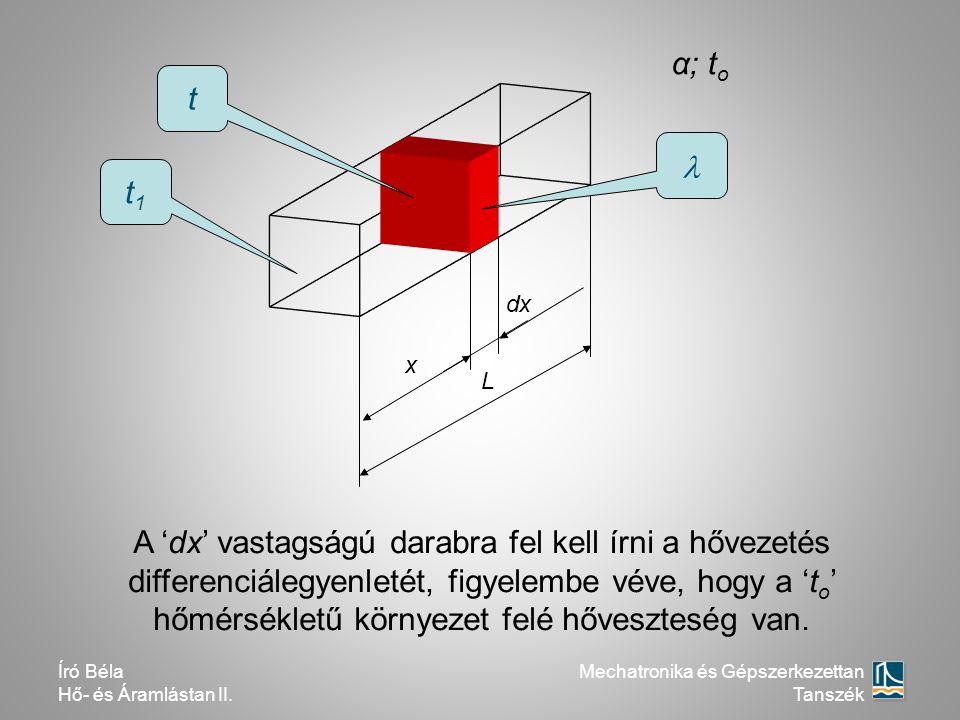 α; to t.  t1. dx. x. L.