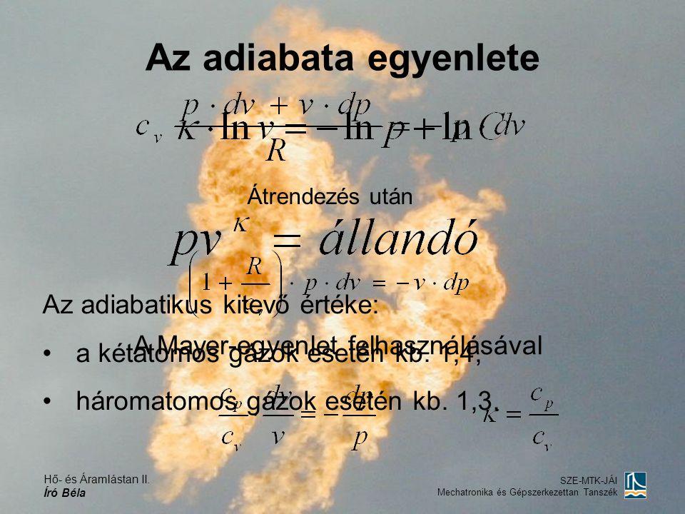 A Mayer-egyenlet felhasználásával
