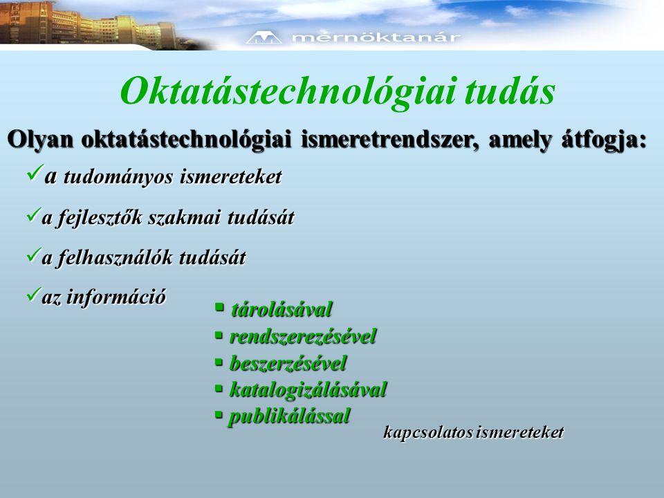 Oktatástechnológiai tudás