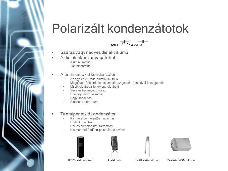 Polarizált kondenzátotok