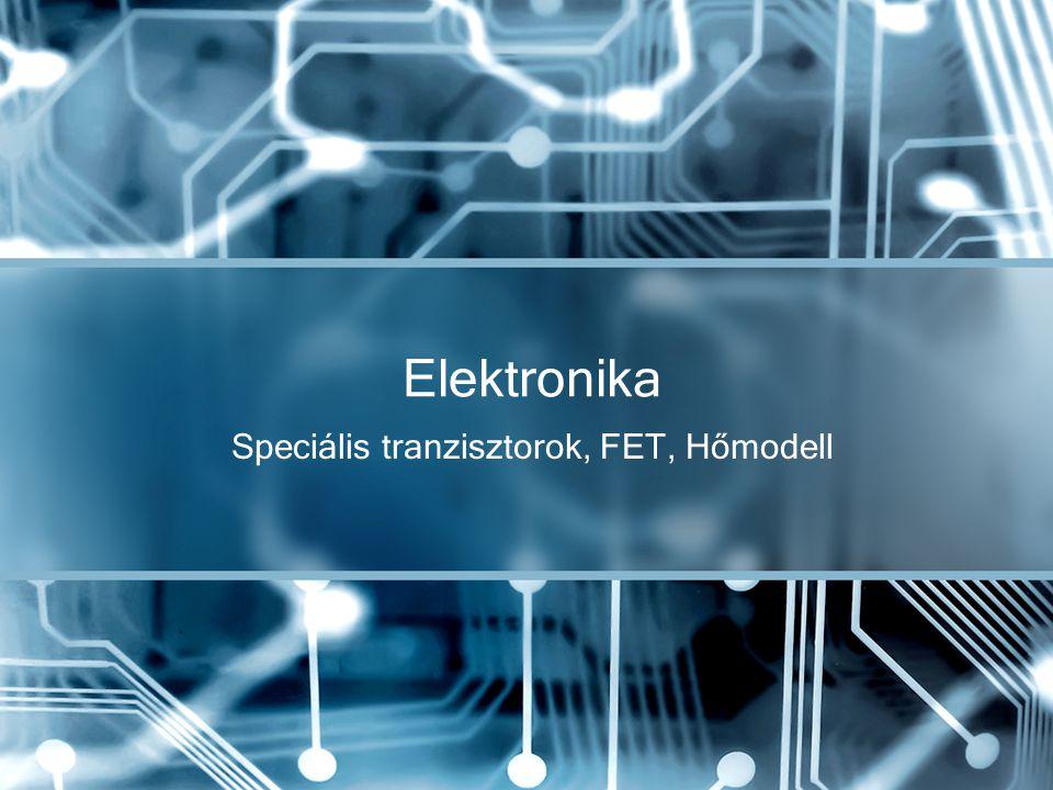 Speciális tranzisztorok, FET, Hőmodell