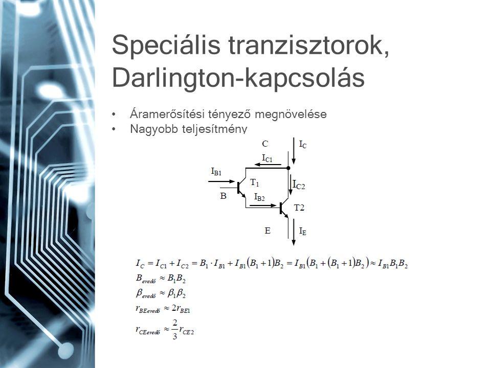 Speciális tranzisztorok, Darlington-kapcsolás