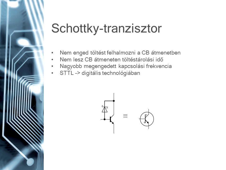 Schottky-tranzisztor