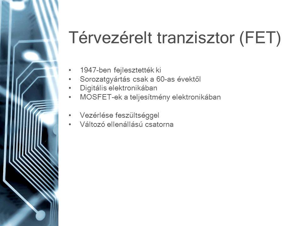 Térvezérelt tranzisztor (FET)