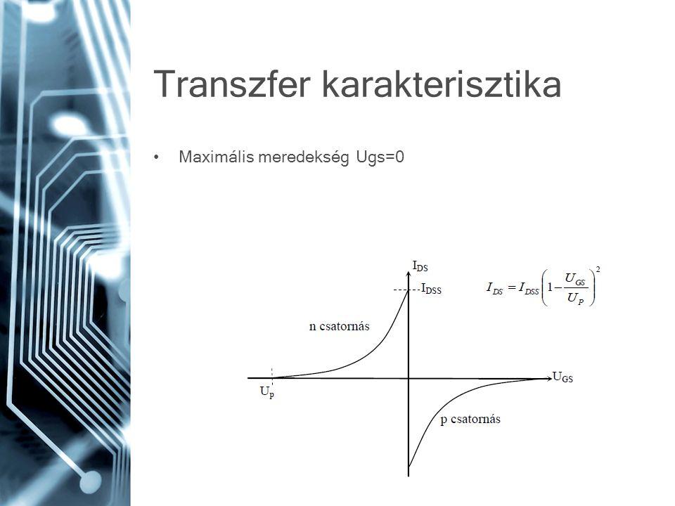 Transzfer karakterisztika