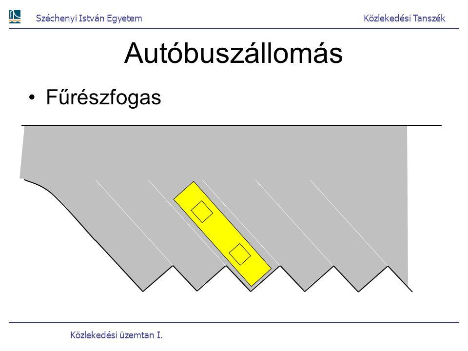 Autóbuszállomás Fűrészfogas