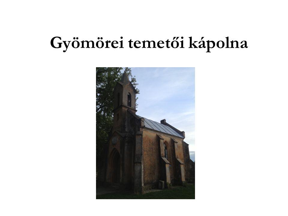 Gyömörei temetői kápolna