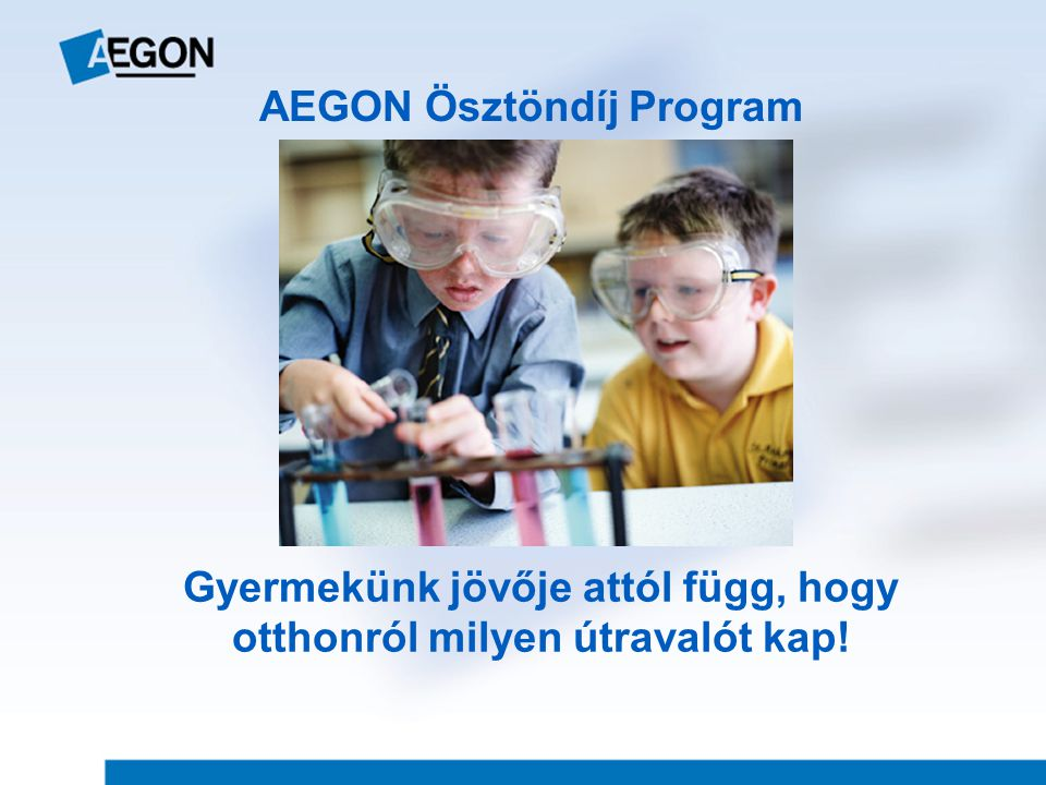 AEGON Ösztöndíj Program