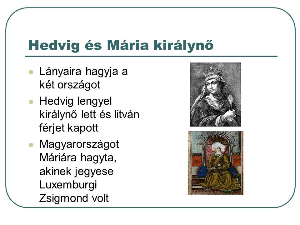 Hedvig és Mária királynő