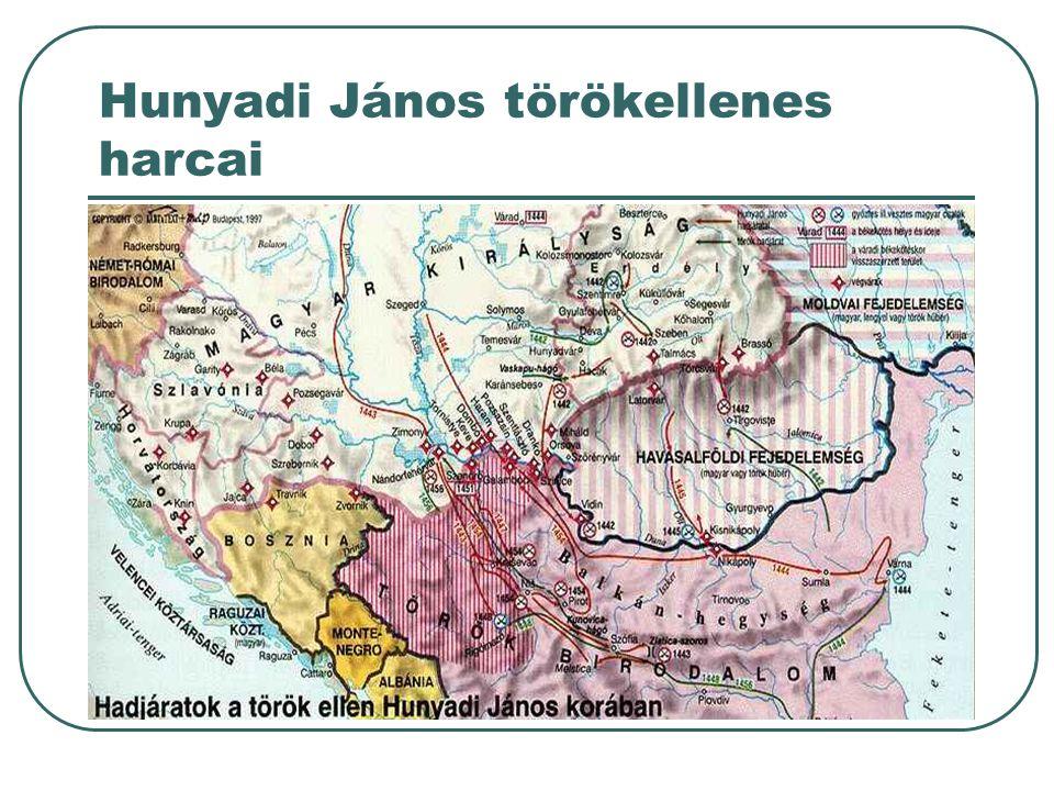 Hunyadi János törökellenes harcai