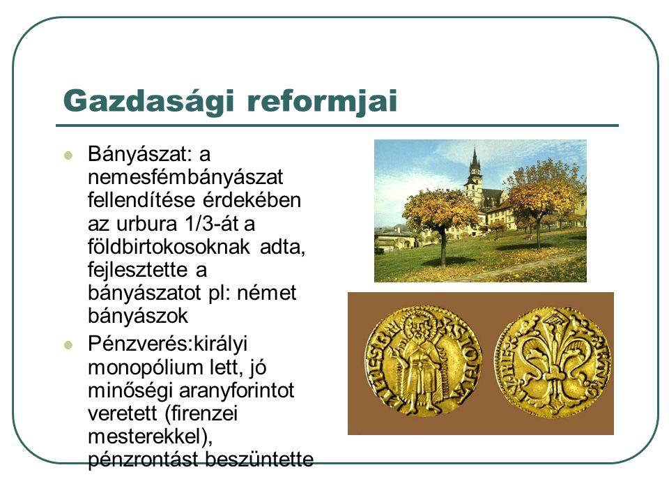 Gazdasági reformjai