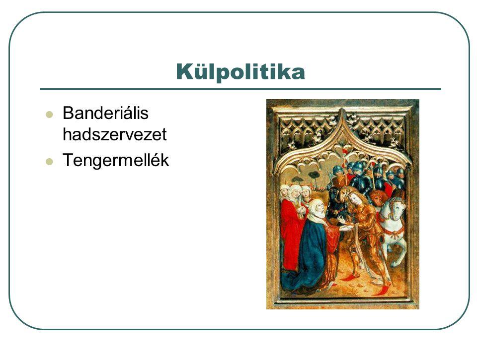 Külpolitika Banderiális hadszervezet Tengermellék