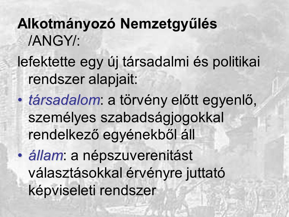 Alkotmányozó Nemzetgyűlés /ANGY/: