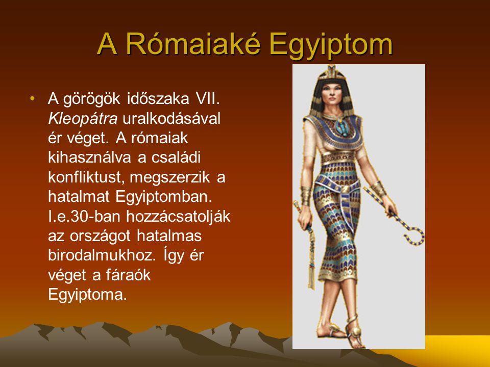 A Rómaiaké Egyiptom