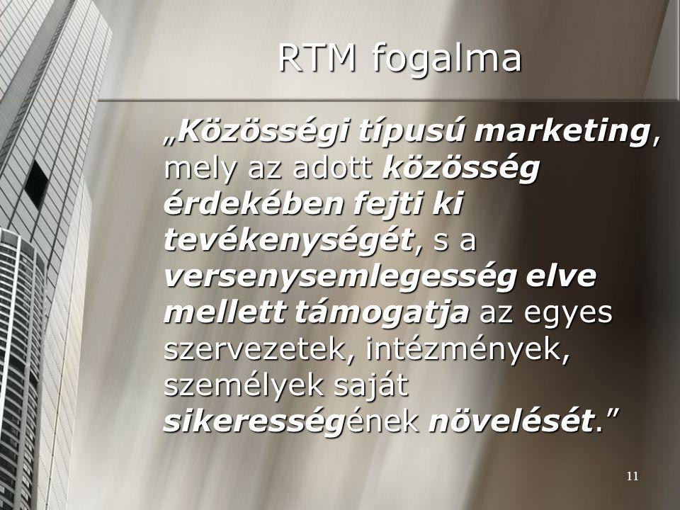 RTM fogalma