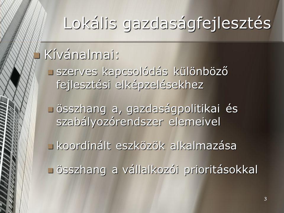 Lokális gazdaságfejlesztés