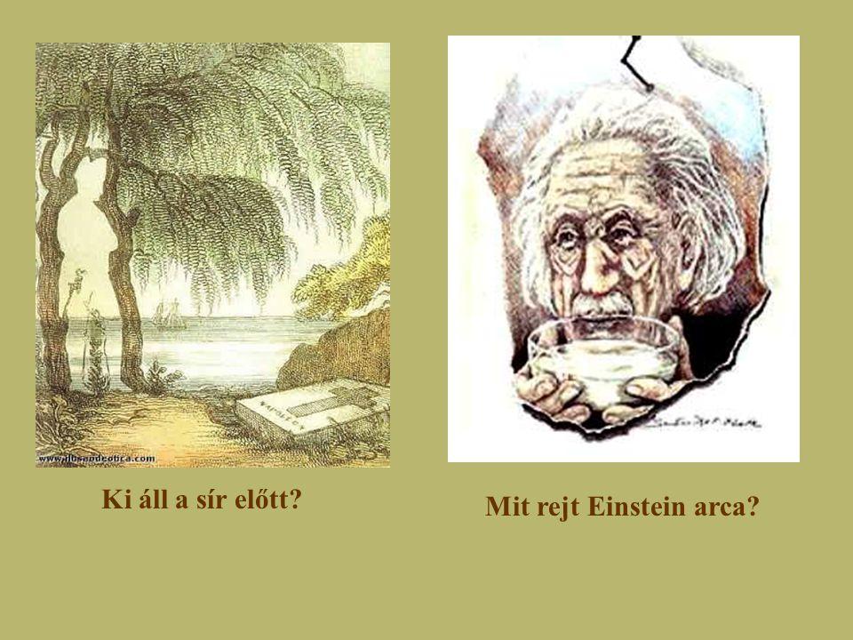 Ki áll a sír előtt Mit rejt Einstein arca