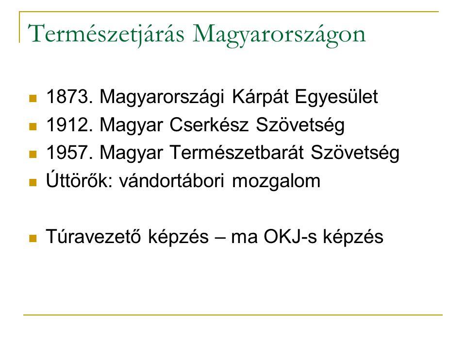Természetjárás Magyarországon