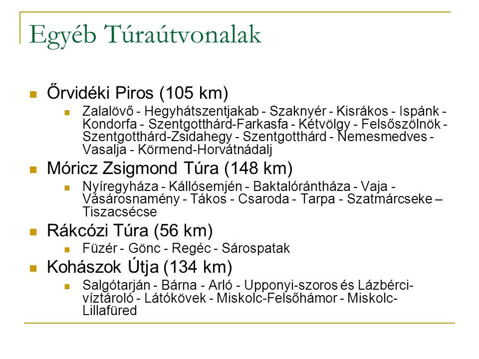 Egyéb Túraútvonalak Őrvidéki Piros (105 km)