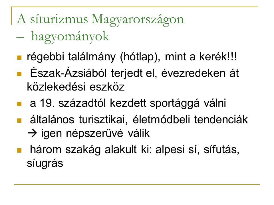 A síturizmus Magyarországon – hagyományok