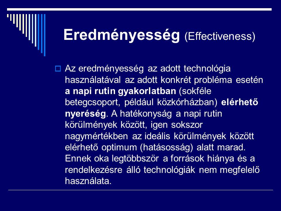 Eredményesség (Effectiveness)
