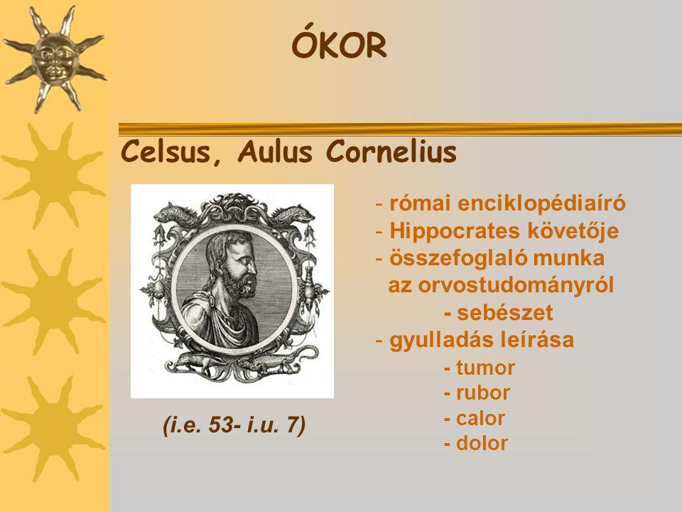 ÓKOR Celsus, Aulus Cornelius római enciklopédiaíró