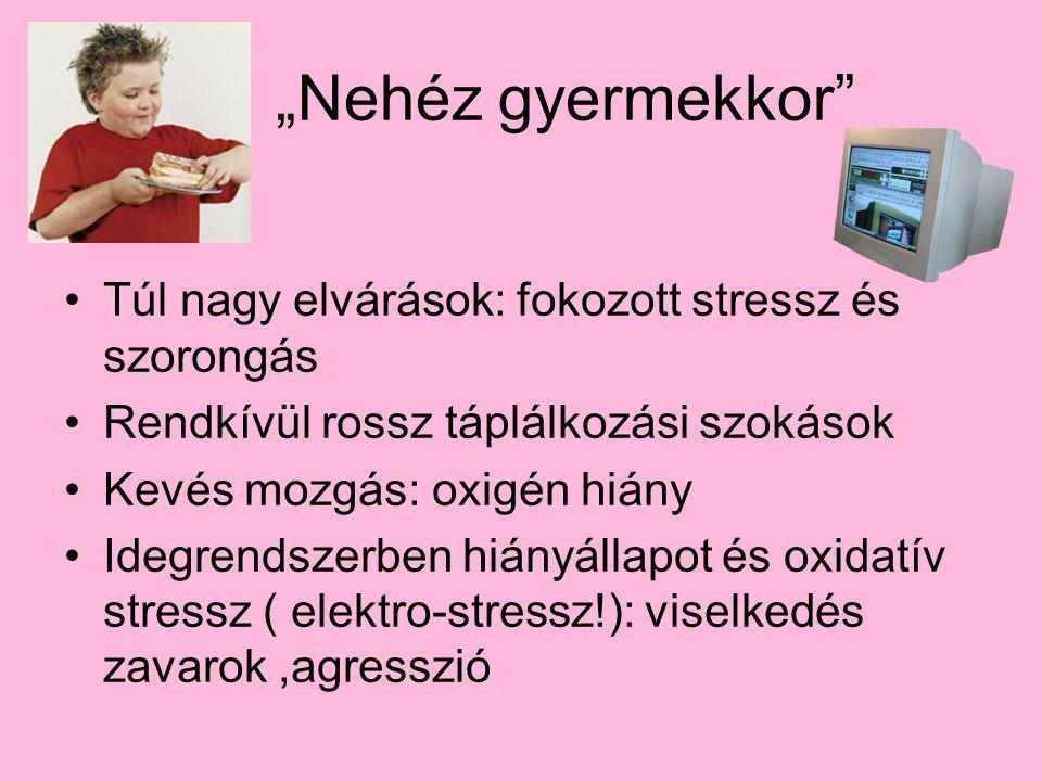 """""""Nehéz gyermekkor Túl nagy elvárások: fokozott stressz és szorongás"""