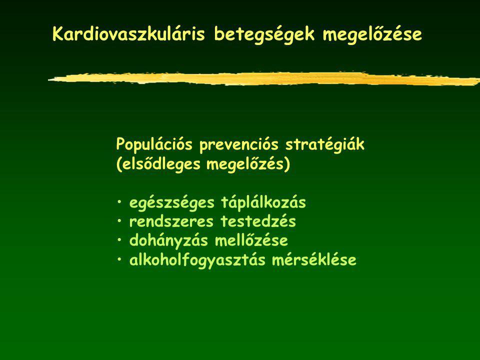 Kardiovaszkuláris betegségek megelőzése