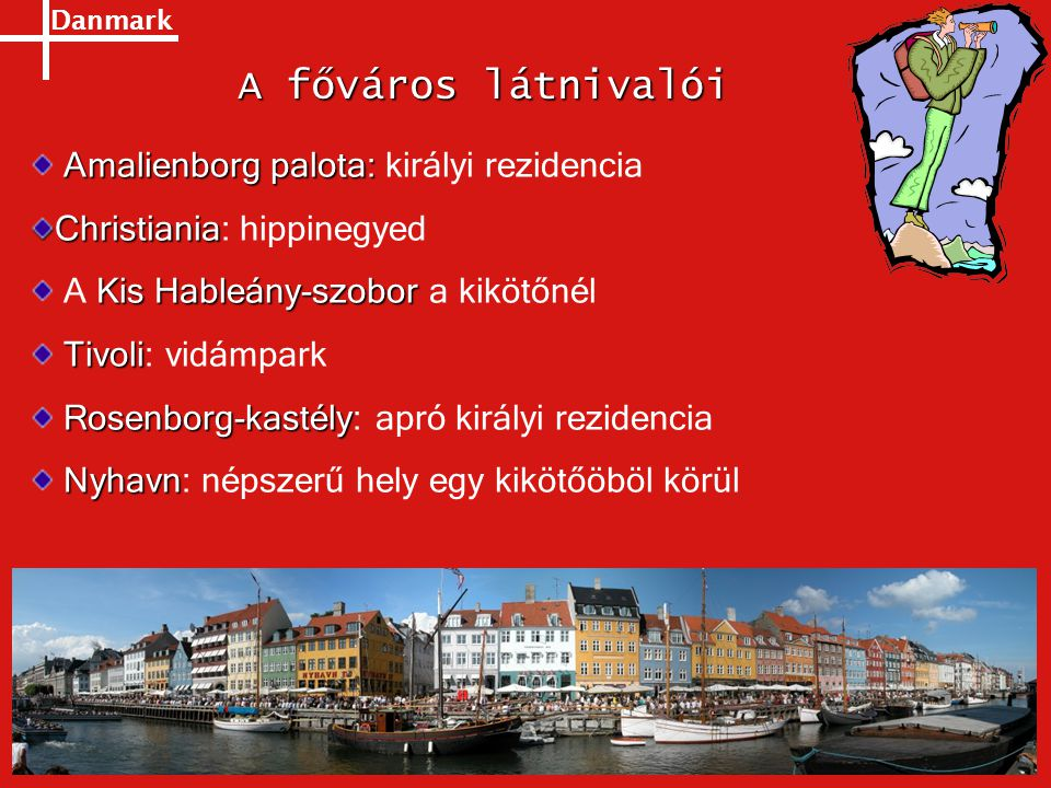 A főváros látnivalói Amalienborg palota: királyi rezidencia