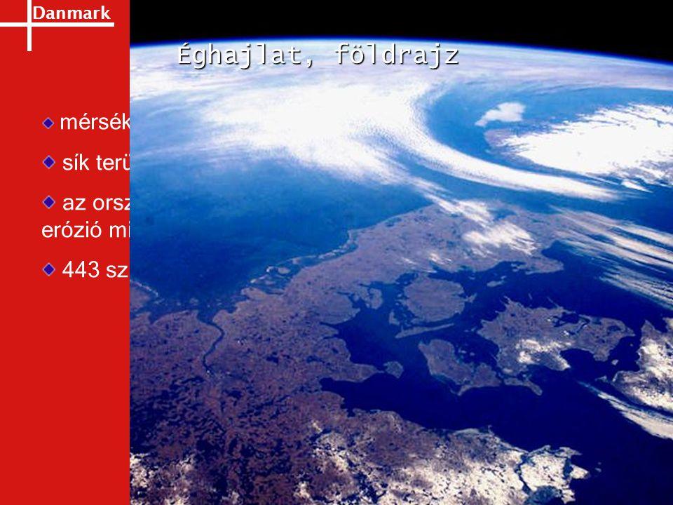 Éghajlat, földrajz mérsékelt égöv. sík terület, átl. tengerszint feletti magasság: 31 m.