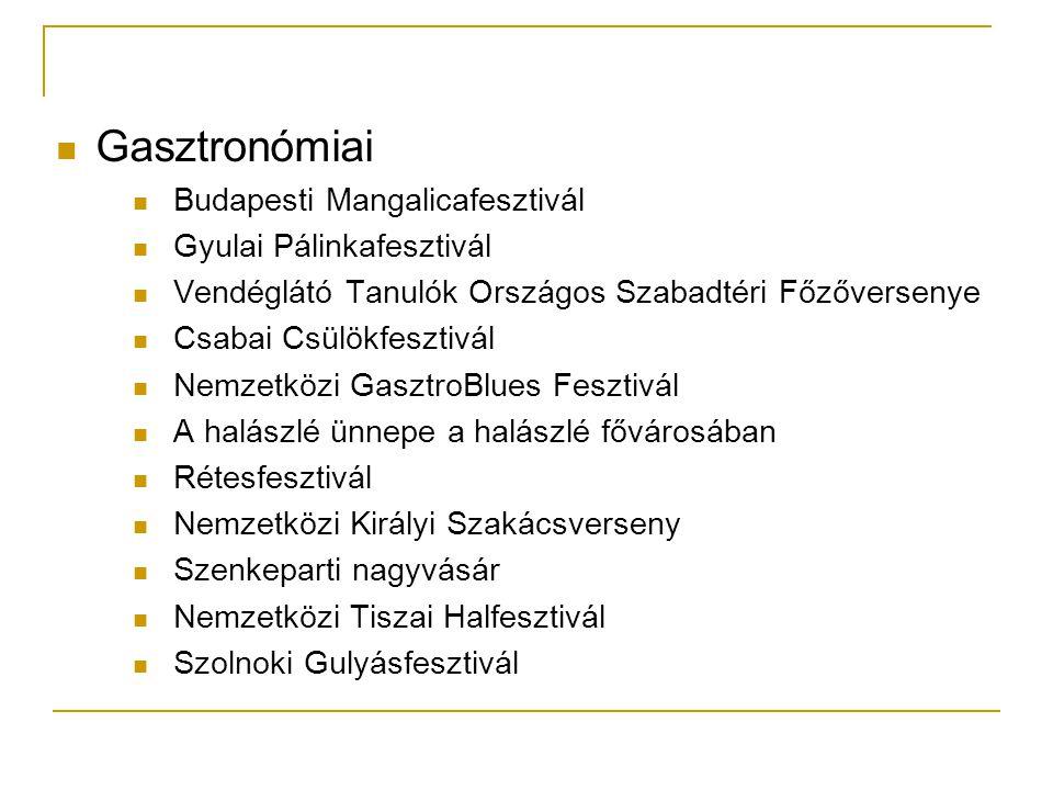 Gasztronómiai Budapesti Mangalicafesztivál Gyulai Pálinkafesztivál