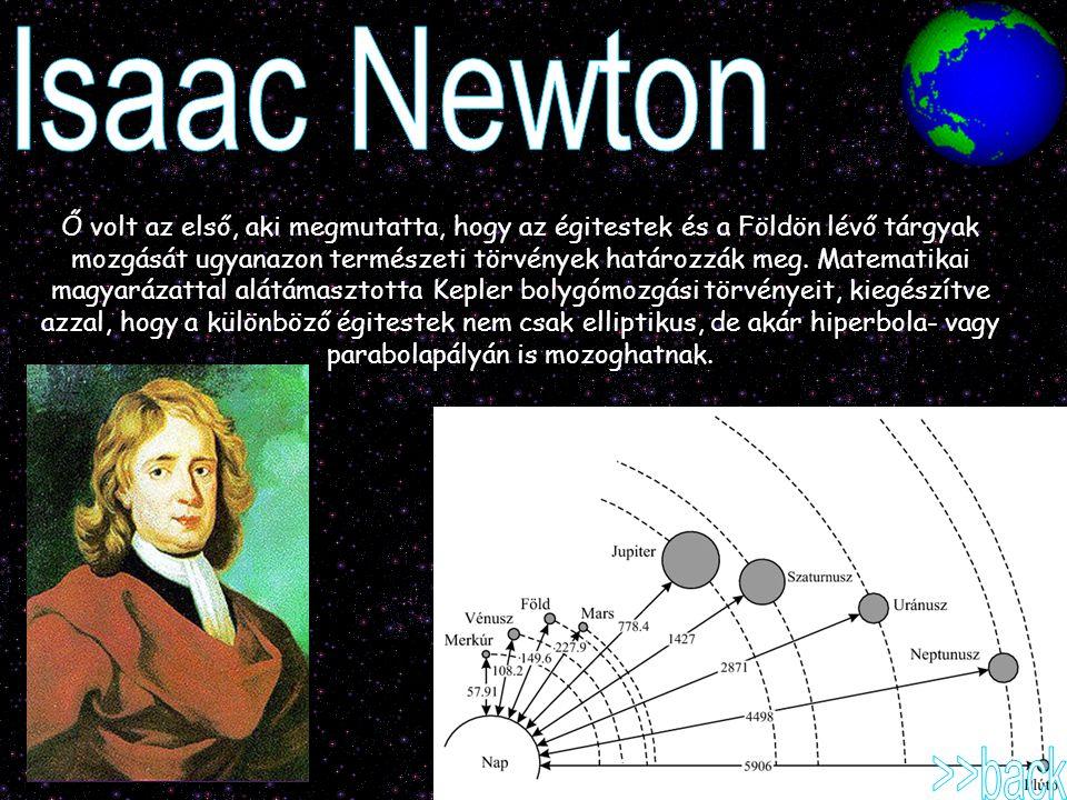 Isaac Newton >>back