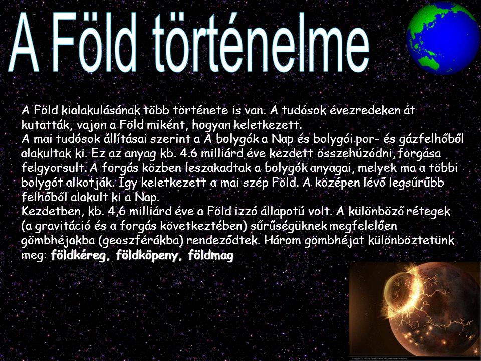 A Föld történelme