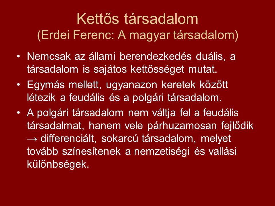 Kettős társadalom (Erdei Ferenc: A magyar társadalom)