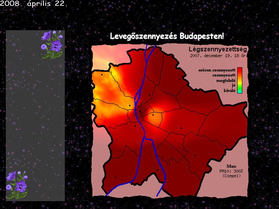 Levegőszennyezés Budapesten!