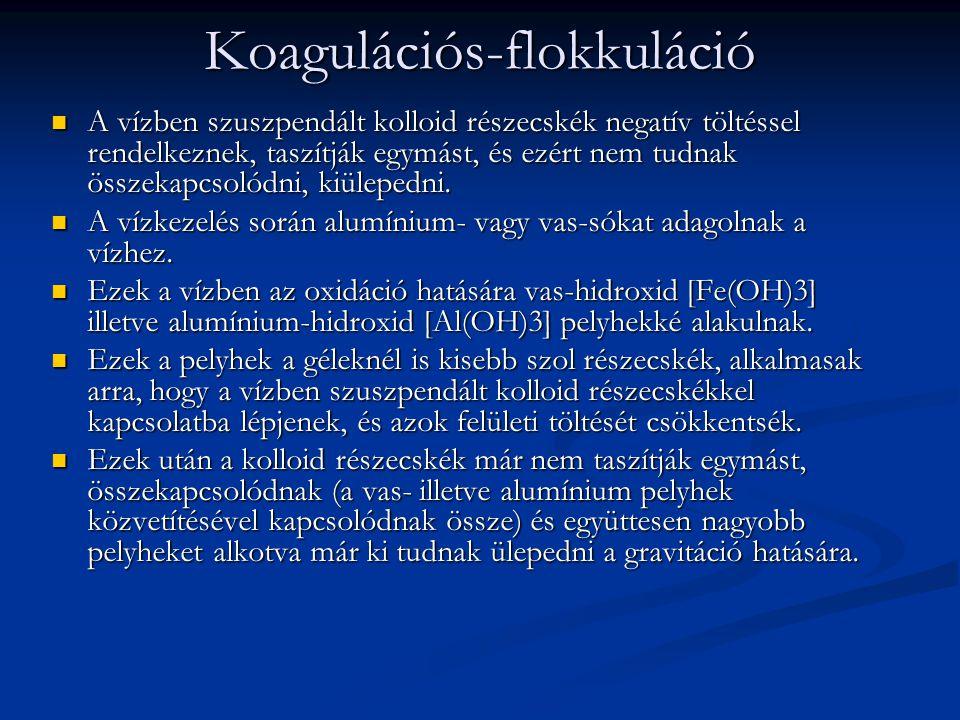 Koagulációs-flokkuláció