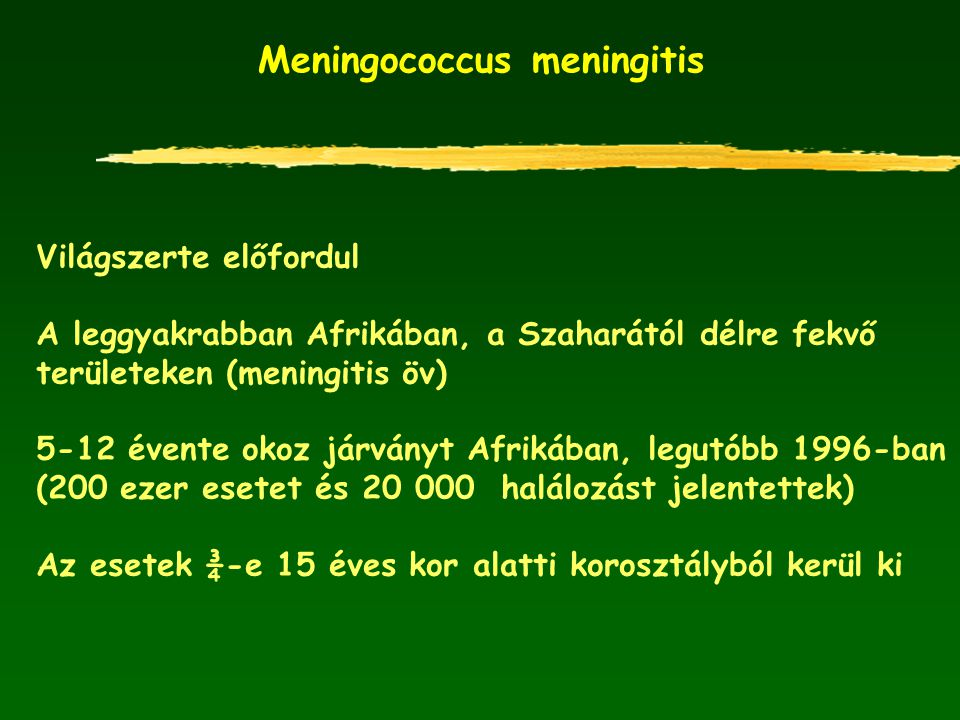 Meningococcus meningitis