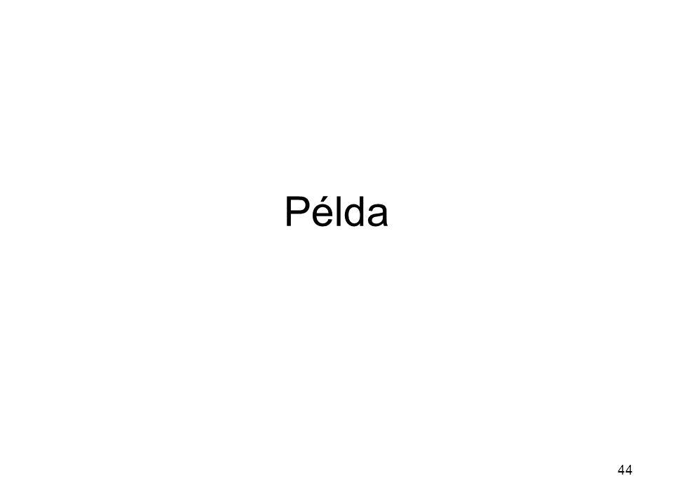Példa 44