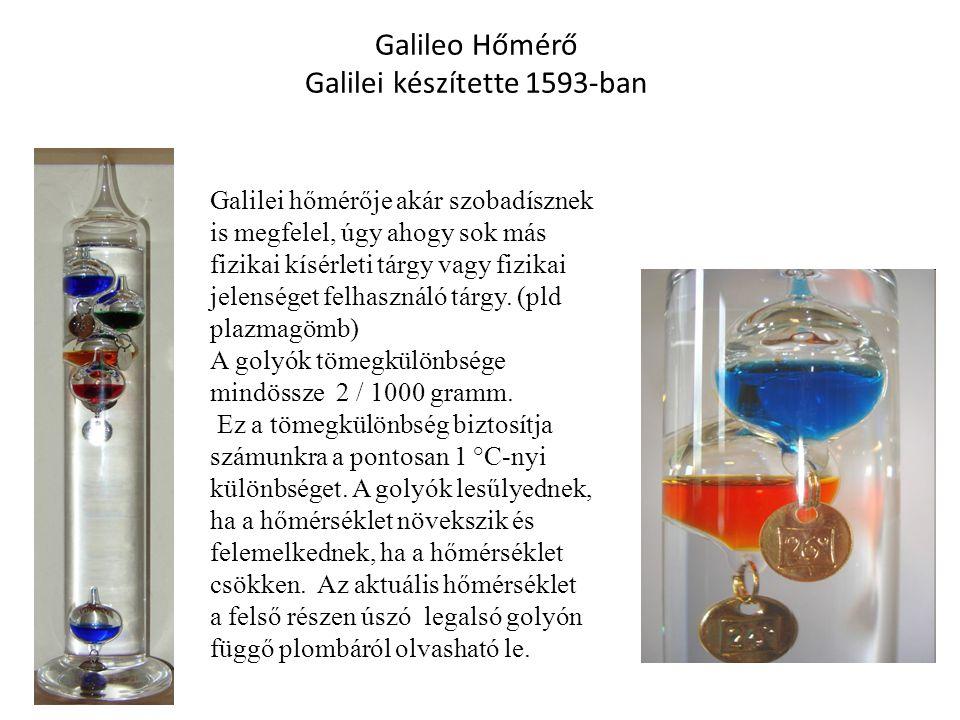 Galilei készítette 1593-ban