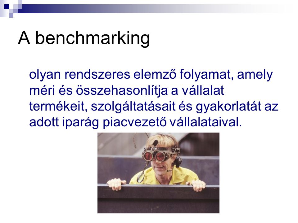 A benchmarking