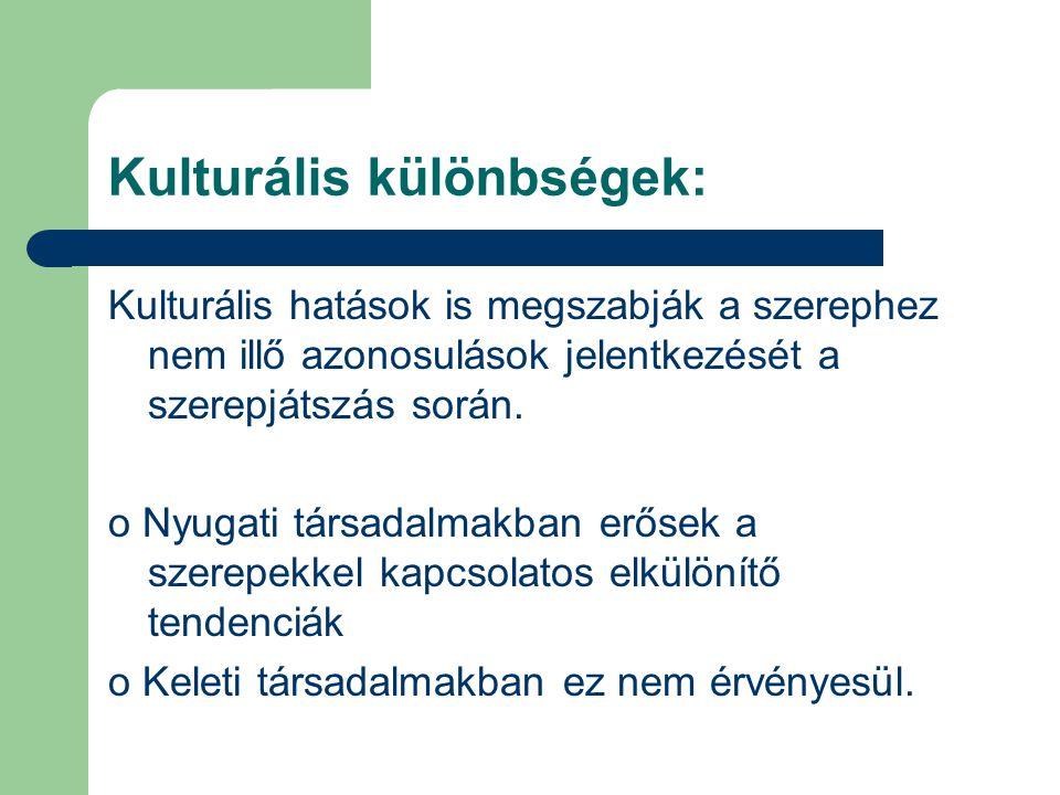 Kulturális különbségek: