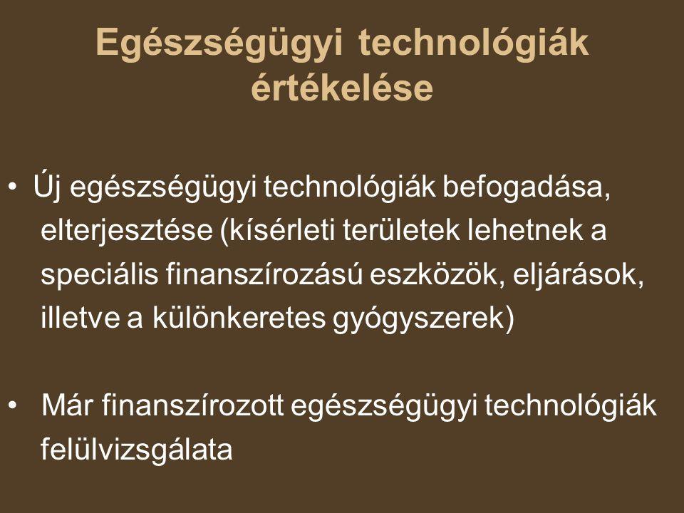 Egészségügyi technológiák értékelése