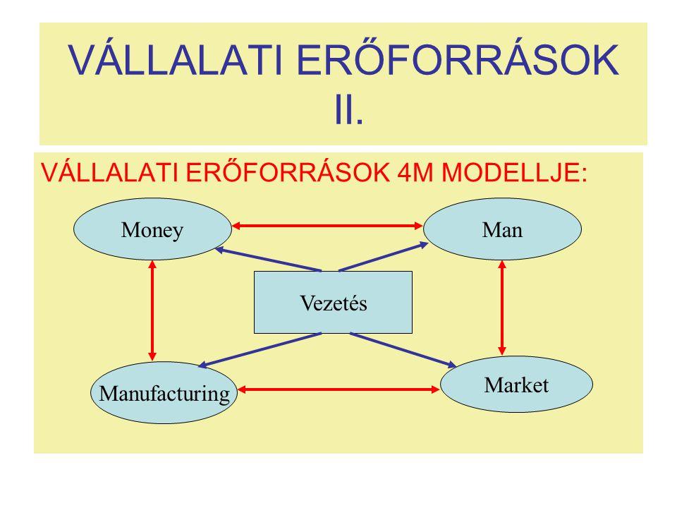 VÁLLALATI ERŐFORRÁSOK II.