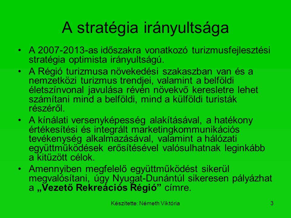 A stratégia irányultsága