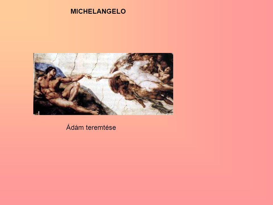 MICHELANGELO Ádám teremtése