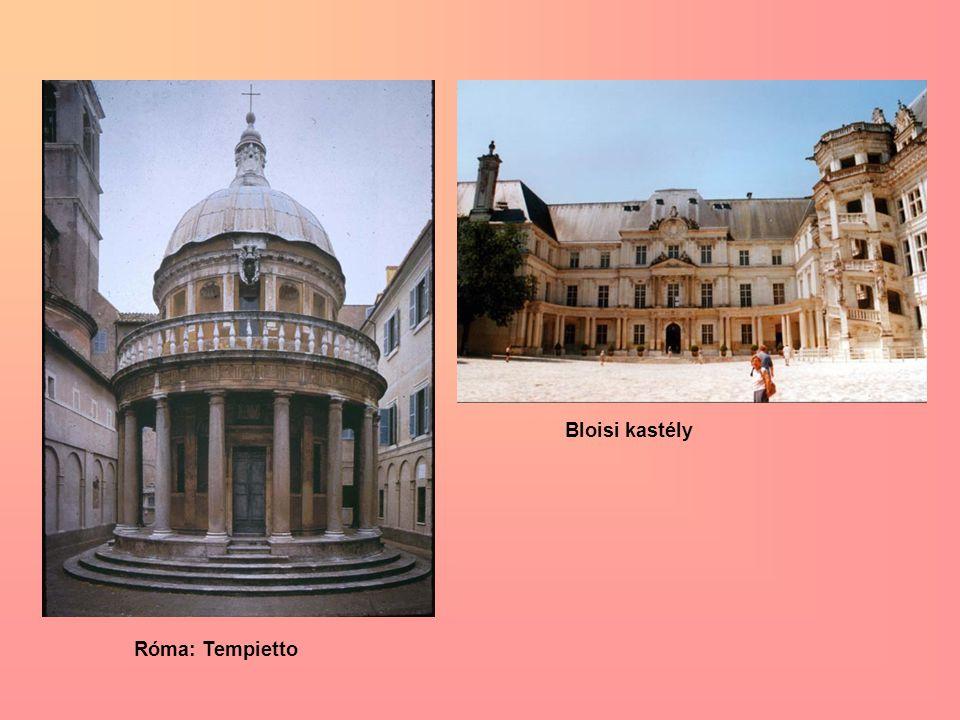 Bloisi kastély Róma: Tempietto