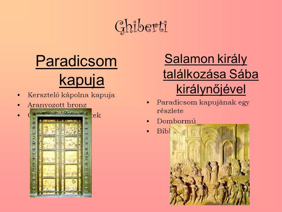 Salamon király találkozása Sába királynőjével